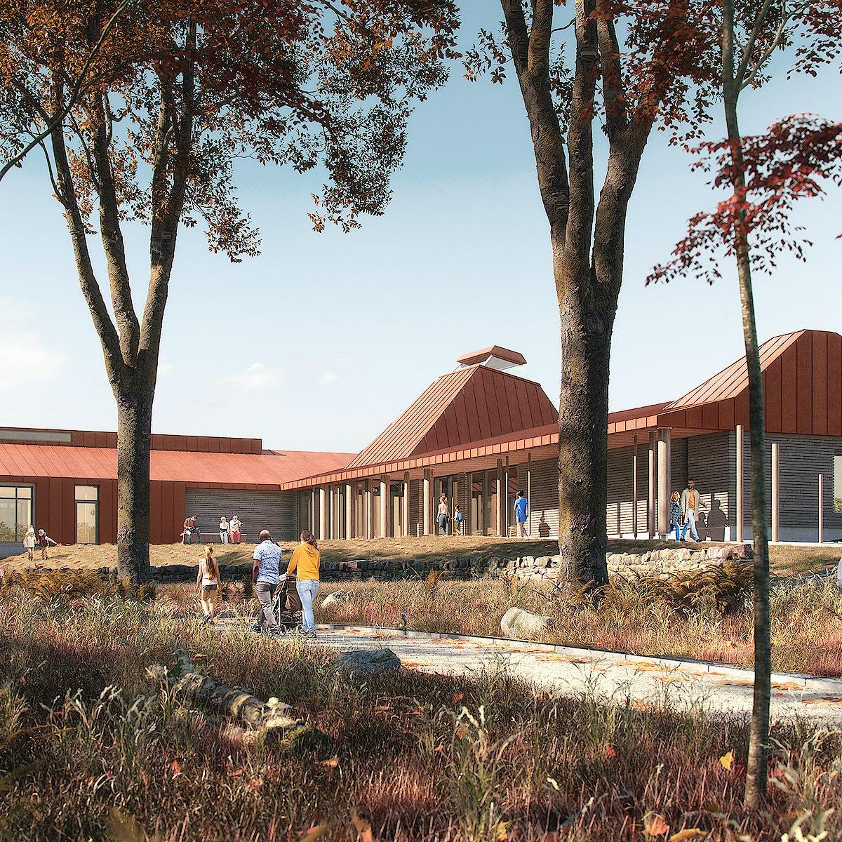 Dundreggan Rewilding Centre approach visualisation