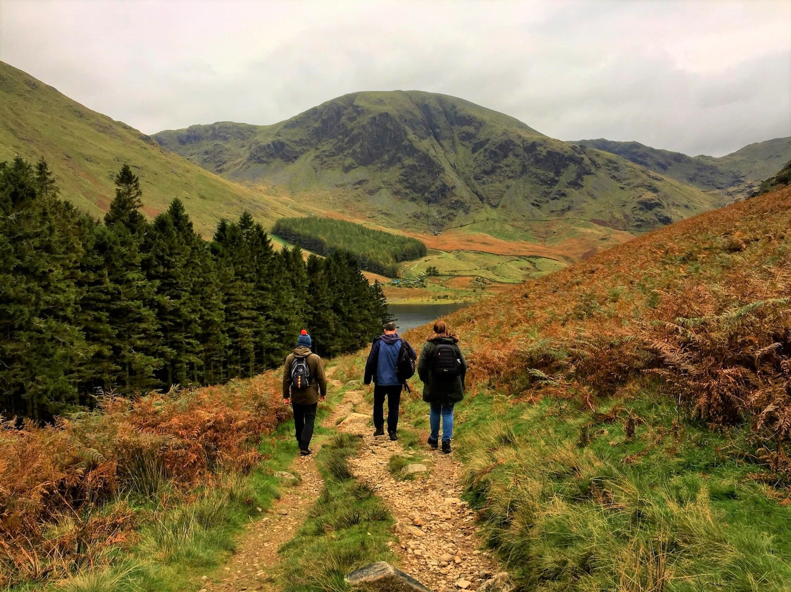 Haweswater walking