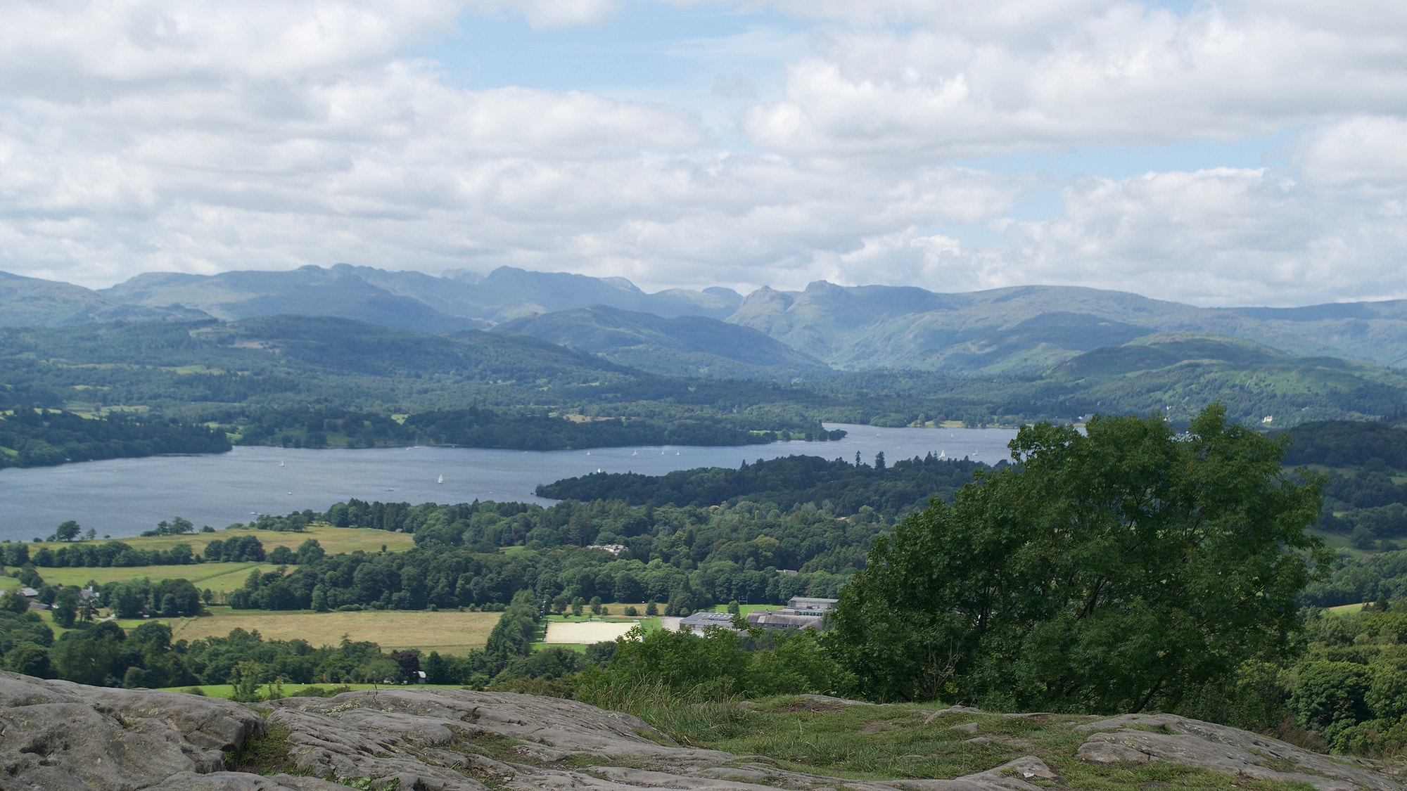 Orrest Head view over Windermere Lake District Photo by Izzy Bunting