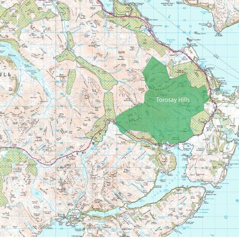 Torosay map