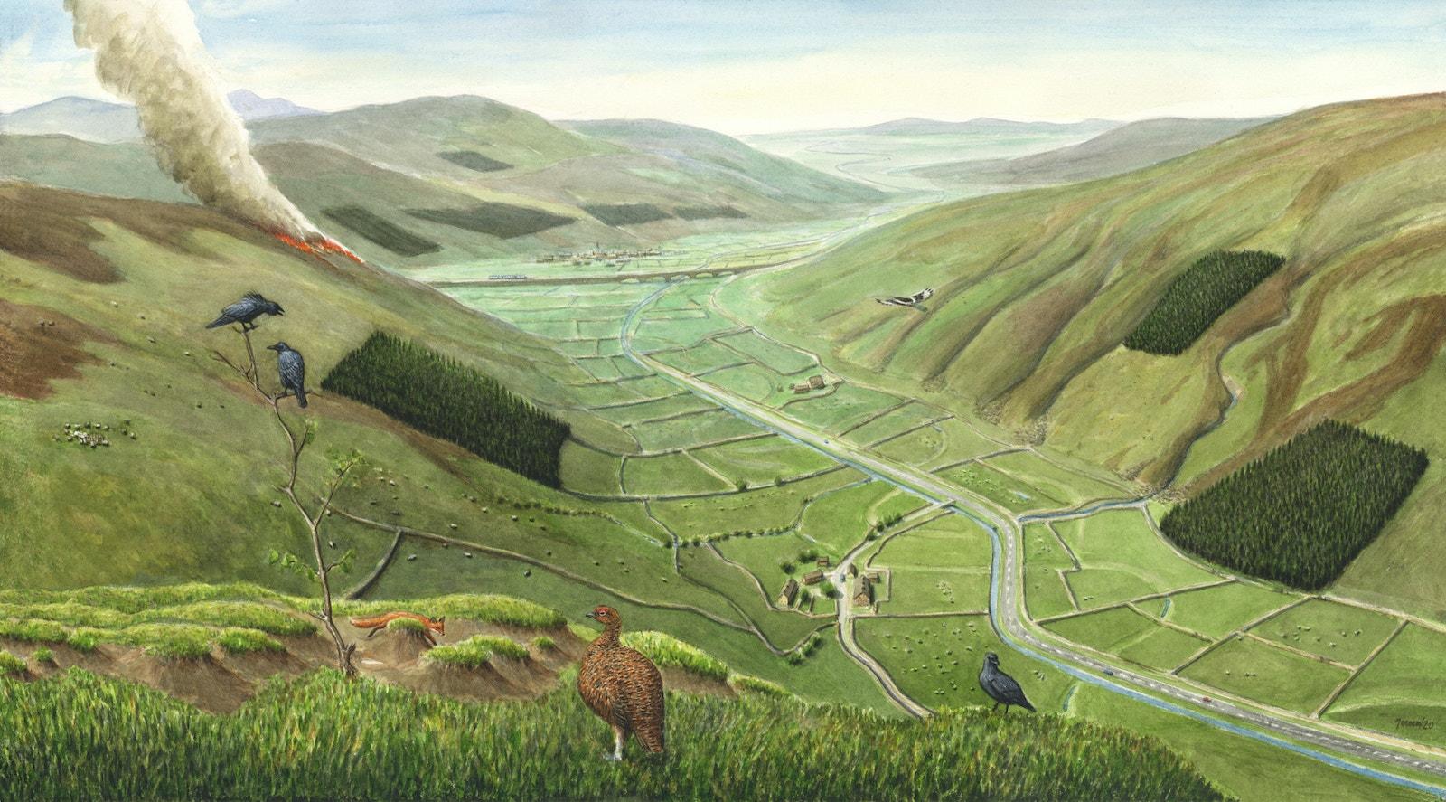Uplands present day