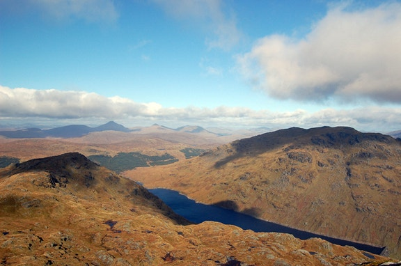 View from Ben Vane 680